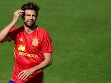 Ivan Balliu comentó la situación que atraviesa Gerard Piqué. AFP