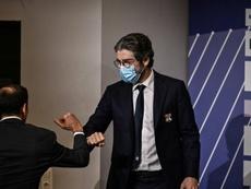 Déjà des tensions entre Juninho et Bruno Cheyrou ? AFP