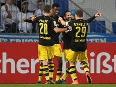 El Borussia ya está en octavos de la DFB Pokal. AFP