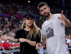 Buenas noticias para Piqué y Shakira. AFP