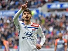 El Lyon pasó página tras la eliminación. AFP