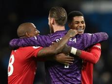 O melhor XI da década na Premier League, segundo a 'BBC'. AFP