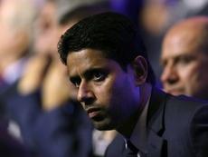 Presidente do PSG critica equipe. AFP