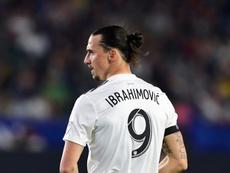 Zlatan, de retour en Europe. AFP