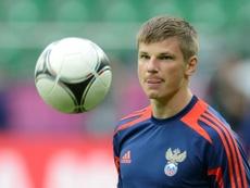 Arshavin, uno de los grandes talentos rusos. AFP