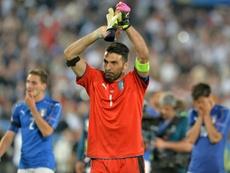 Buffon sait que sa carrière touche à sa fin. AFP