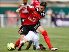 Roux offre l'égalisation contre Ajaccio. AFP