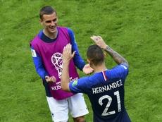 Les champions du monde cassent des tirelires. AFP