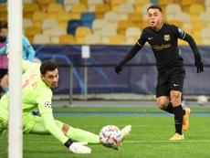 El Barça ganó con varias notas positivas. AFP