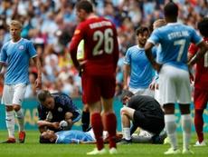 Ni la grave lesión de Sané espanta al Bayern. AFP