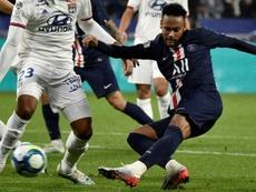 Neymar permet au PSG de valider sa semaine parfaite à Lyon. AFP
