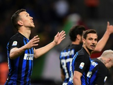 Lukaku could move to Inter, with Perisic going the other way. AFP