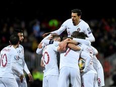 Le champion d'Europe ira bien à l'Euro. AFP