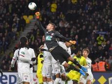 Lopes décrypte la concurrence avec Tatarusanu. AFP