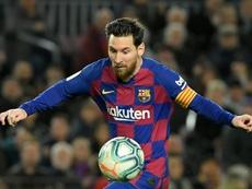 Barça ignora as palavras do clube italiano. AFP