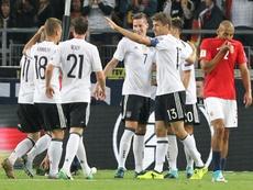 Draxler realizó un gran partido ante Noruega. AFP