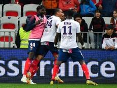 Les compos probables du match de Ligue 1 entre Caen et Dijon. AFP
