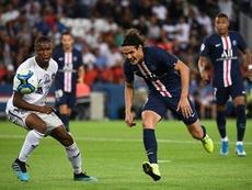 El PSG consiguió una importante victoria. AFP