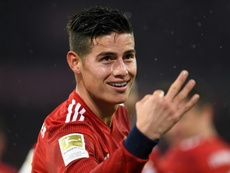El Nápoles quiere a James; el Madrid quiere ingresar ya el dinero de su traspaso. AFP