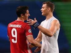 Neuer est fier de son travail au Bayern. AFP