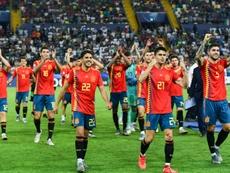 España igualó a Italia con cinco títulos del Europeo Sub 21. AFP