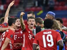 Müller, heureux d'ajouter un titre à son palmarès. AFP