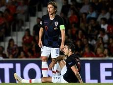 L'Inter n'oublie pas Modric. AFP