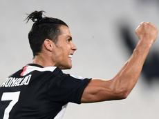 Cristiano acumula 28 goles y tiene 56 puntos. AFP