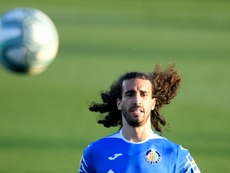 Cucurella no jugará con la Sub 21. AFP