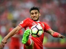 Salvio recusa mudar-se para o Boca Juniors. AFP