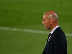 El Madrid saca la calculadora al pensar en el título. AFP