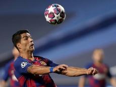 Luis Suárez rechazó una oferta de la Roma. AFP