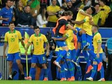 Brasil é campeão da Copa América 2019. AFP