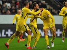 O PSG esteve a ganhar por 3-0. EFE