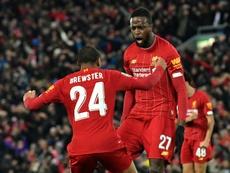 O Aston Villa quer o herói de Liverpool. AFP