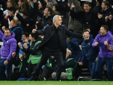 Mourinho wanted to invite the ballboy into the dressing room. AFP