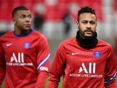 Le clan Neymar ouvert à une prolongation à Paris. AFP