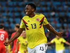 Yerry Mina podría debutar al fin. AFP