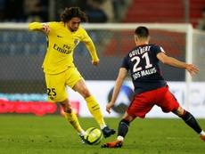 PSG et Adrien Rabiot. AFP