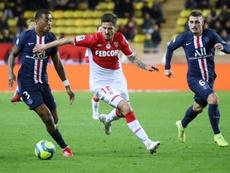 Compos officielles du match de Coupe de France entre Monaco et Saint-Étienne. BeSoccer