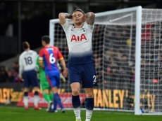 Trippier has struggled for Spurs this season. AFP