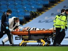 Eric García is ok now. AFP