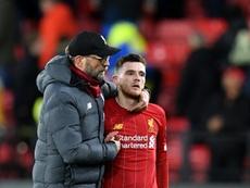 Robertson ne veut pas de Messi. AFP