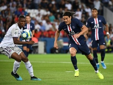Cavani could be in shape for PSG's first UCL encounter. AFP