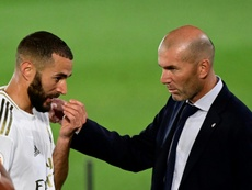 El Madrid y su peculiar tradición si pierde dos partidos seguidos. AFP