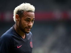 Real Madrid have sent a messenger to Paris for Neymar. AFP