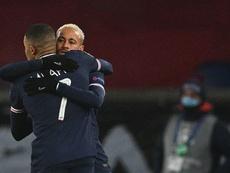 Leonardo habló alto y claro sobre Neymar y Mbappé. AFP