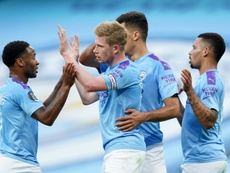 El City deberá pagar una multa de 10 millones de euros a la UEFA. AFP