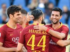 La Roma quiere la Champions. AFP