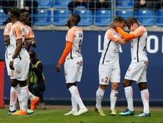 Amiens reçoit Montpellier. AFP